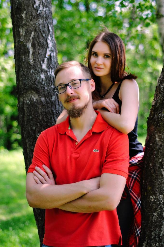 Фотосессия love story в Калуге